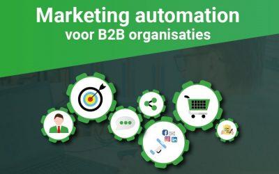 Marketing automation voor B2B organisaties